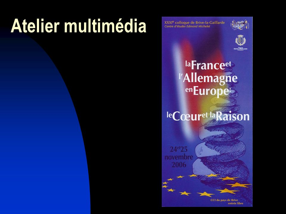 Atelier multimédia