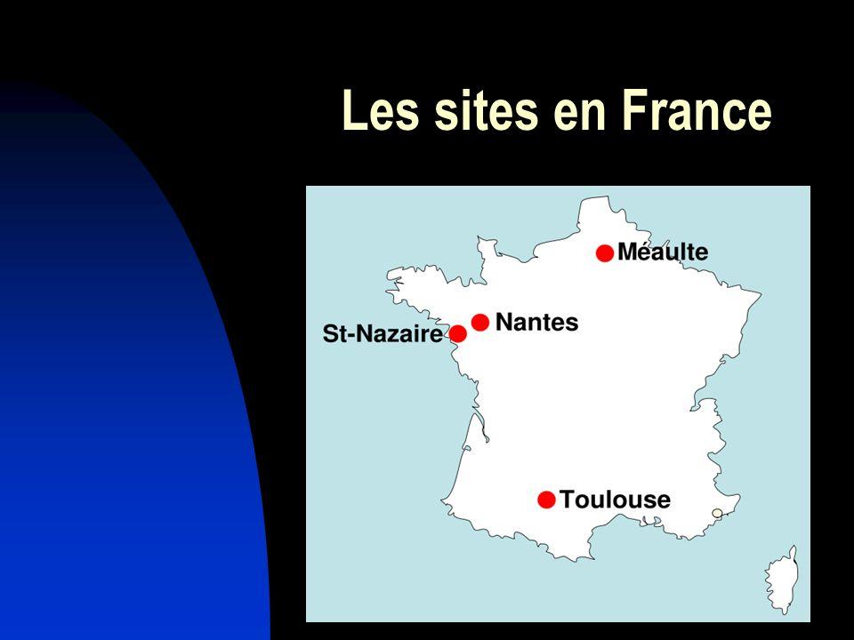 Les sites en France