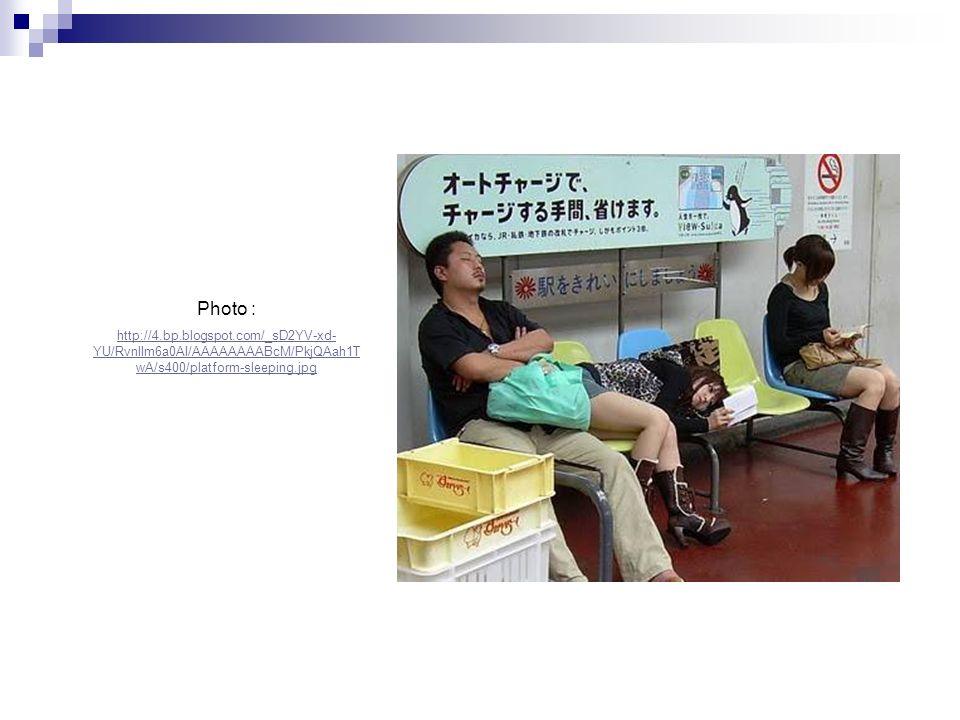 Photo : http://4.bp.blogspot.com/_sD2YV-xd-YU/RvnlIm6a0AI/AAAAAAAABcM/PkjQAah1TwA/s400/platform-sleeping.jpg.
