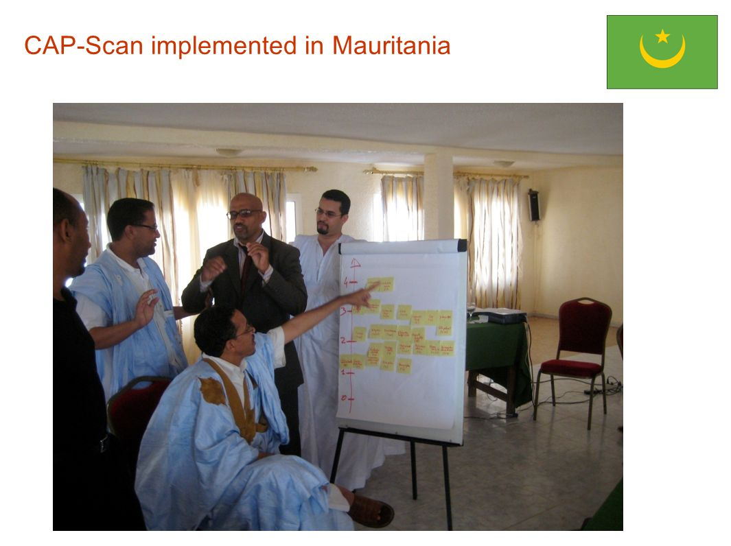 CAP-Scan implemented in Mauritania