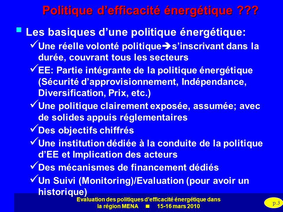Politique d'efficacité énergétique