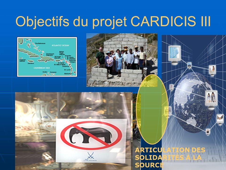 Objectifs du projet CARDICIS III