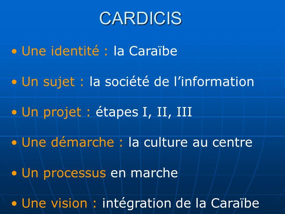CARDICIS Une identité : la Caraïbe