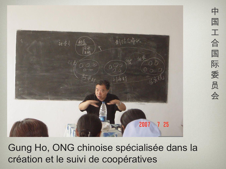 中国工合国际委员会 Gung Ho, ONG chinoise spécialisée dans la création et le suivi de coopératives