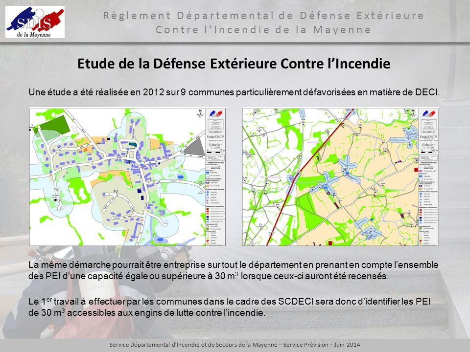 Etude de la Défense Extérieure Contre l'Incendie
