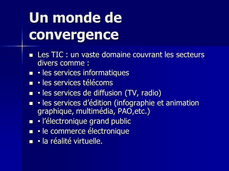 Un monde de convergence
