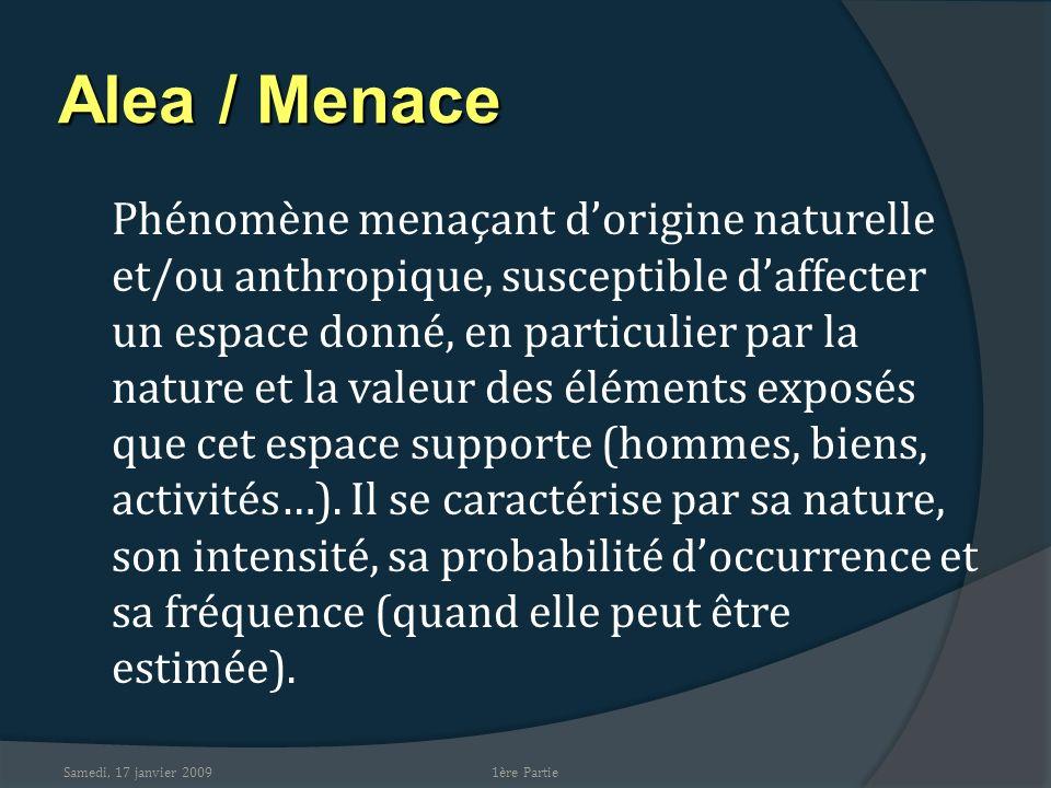 Alea / Menace