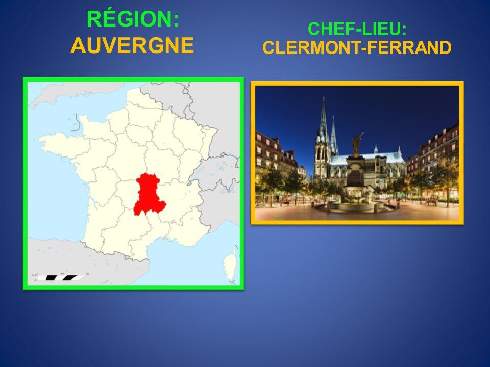 CHEF-LIEU: CLERMONT-FERRAND