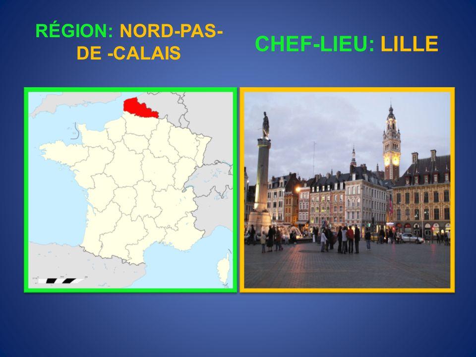 RÉGION: NORD-PAS-DE -CALAIS