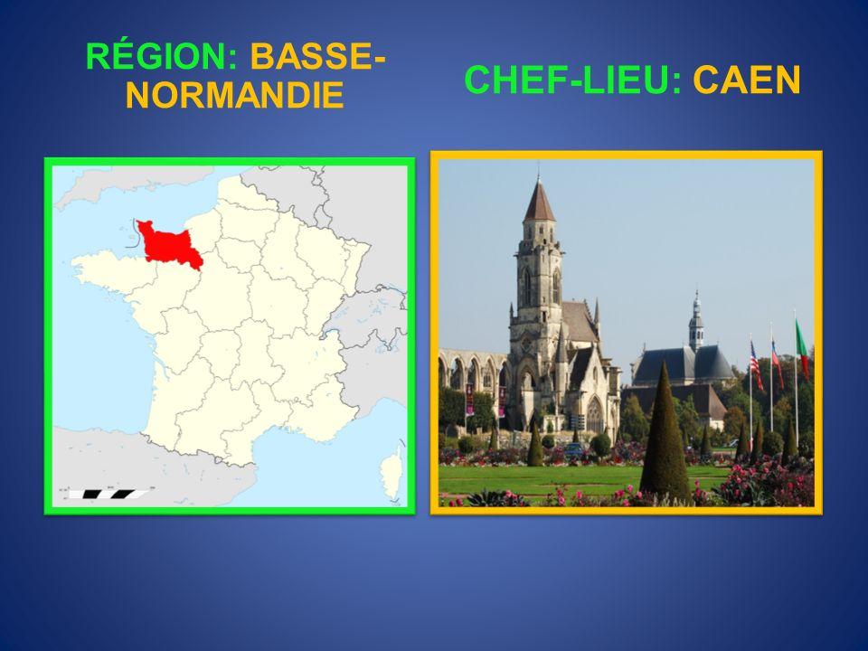 RÉGION: BASSE-NORMANDIE
