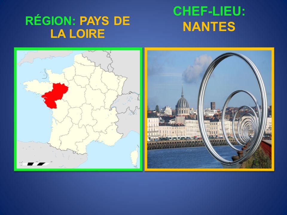 RÉGION: PAYS DE LA LOIRE