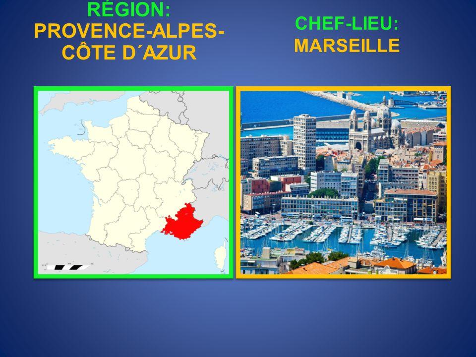 RÉGION: PROVENCE-ALPES-CÔTE D´AZUR
