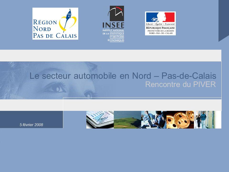 Le secteur automobile en Nord – Pas-de-Calais
