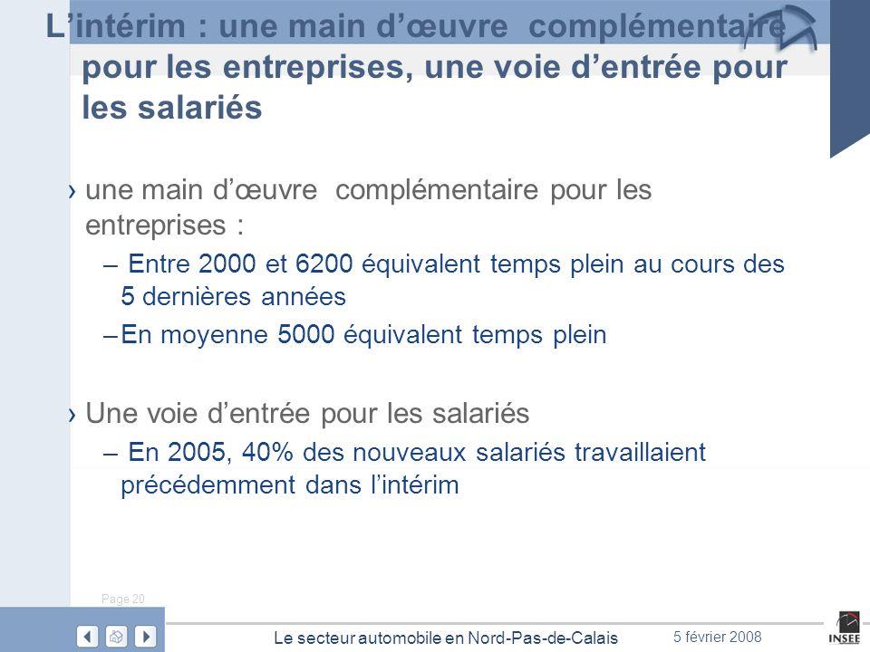 L'intérim : une main d'œuvre complémentaire pour les entreprises, une voie d'entrée pour les salariés