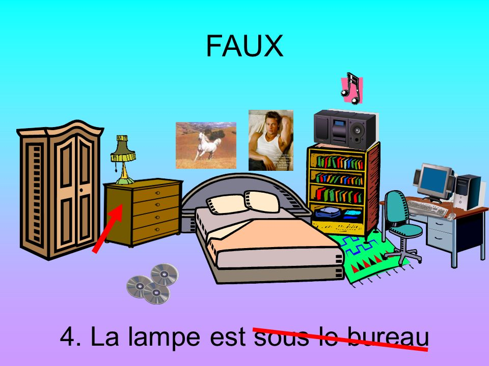 le chat est sur le lit le chat est sous la table ppt t l charger. Black Bedroom Furniture Sets. Home Design Ideas