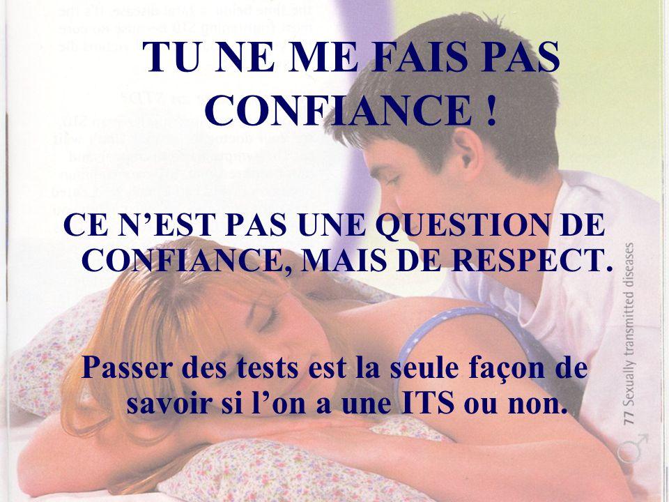 TU NE ME FAIS PAS CONFIANCE !