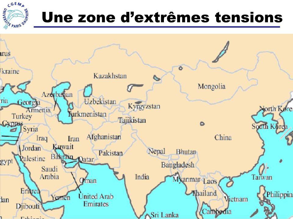 Une zone d'extrêmes tensions