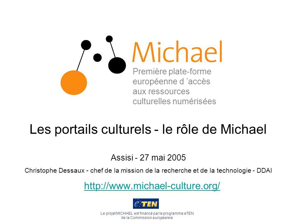 Les portails culturels - le rôle de Michael