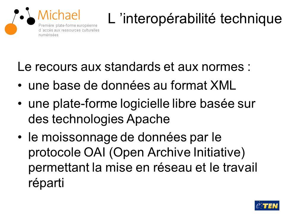 L 'interopérabilité technique
