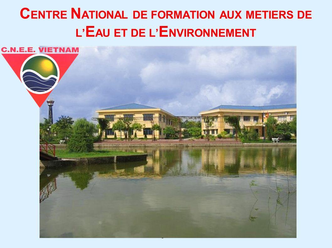 CENTRE NATIONAL DE FORMATION AUX METIERS DE L'EAU ET DE L'ENVIRONNEMENT