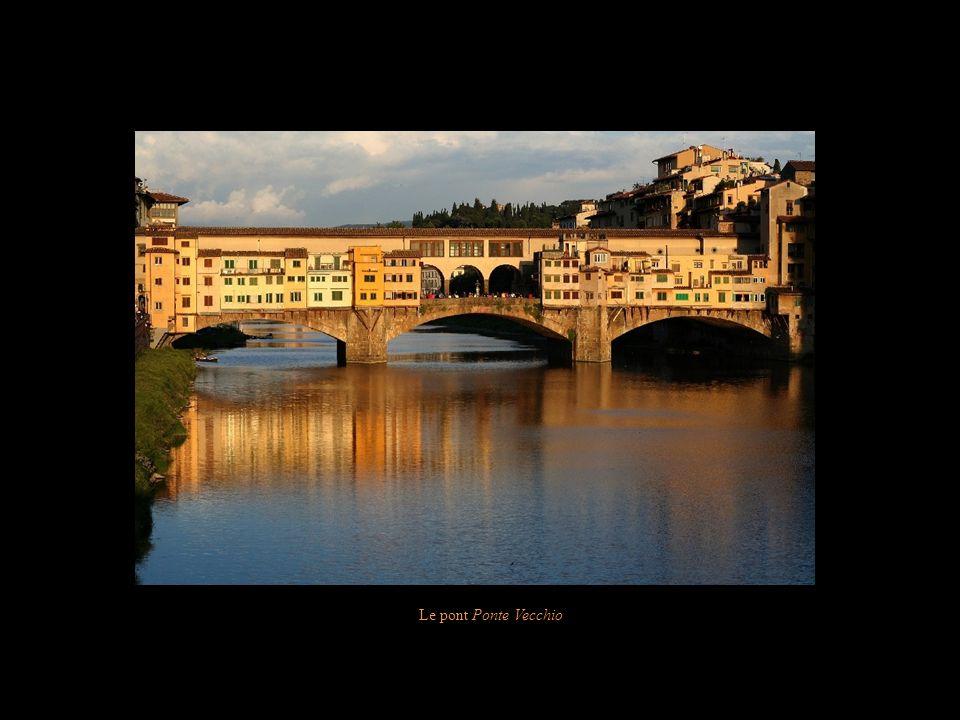 Le pont Ponte Vecchio