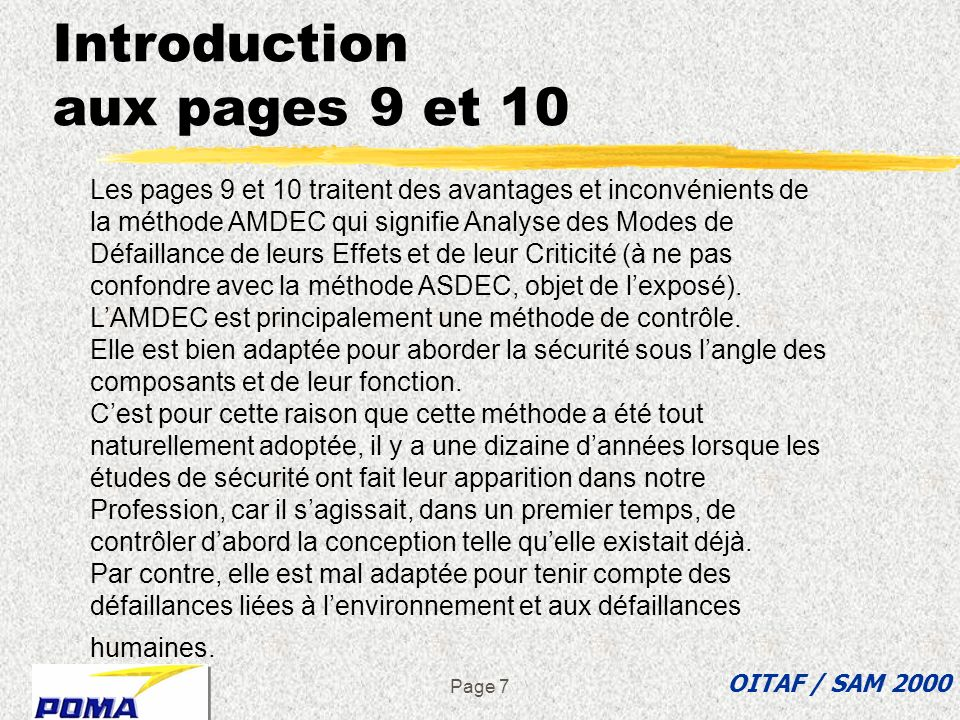 Introduction aux pages 9 et 10