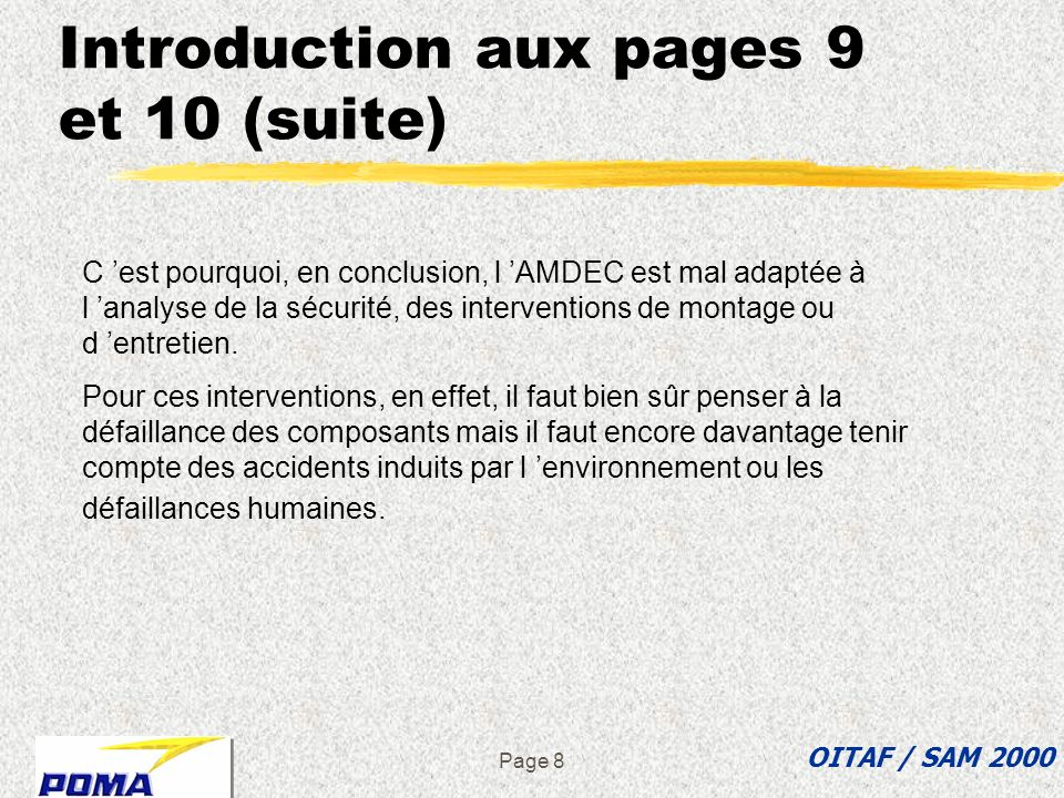 Introduction aux pages 9 et 10 (suite)