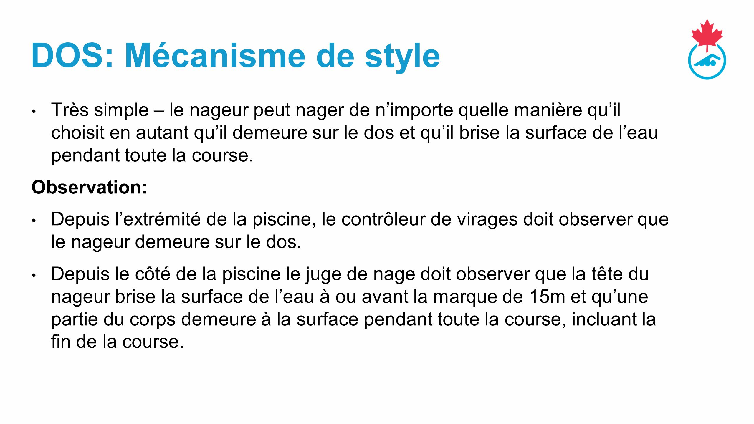 DOS: Mécanisme de style