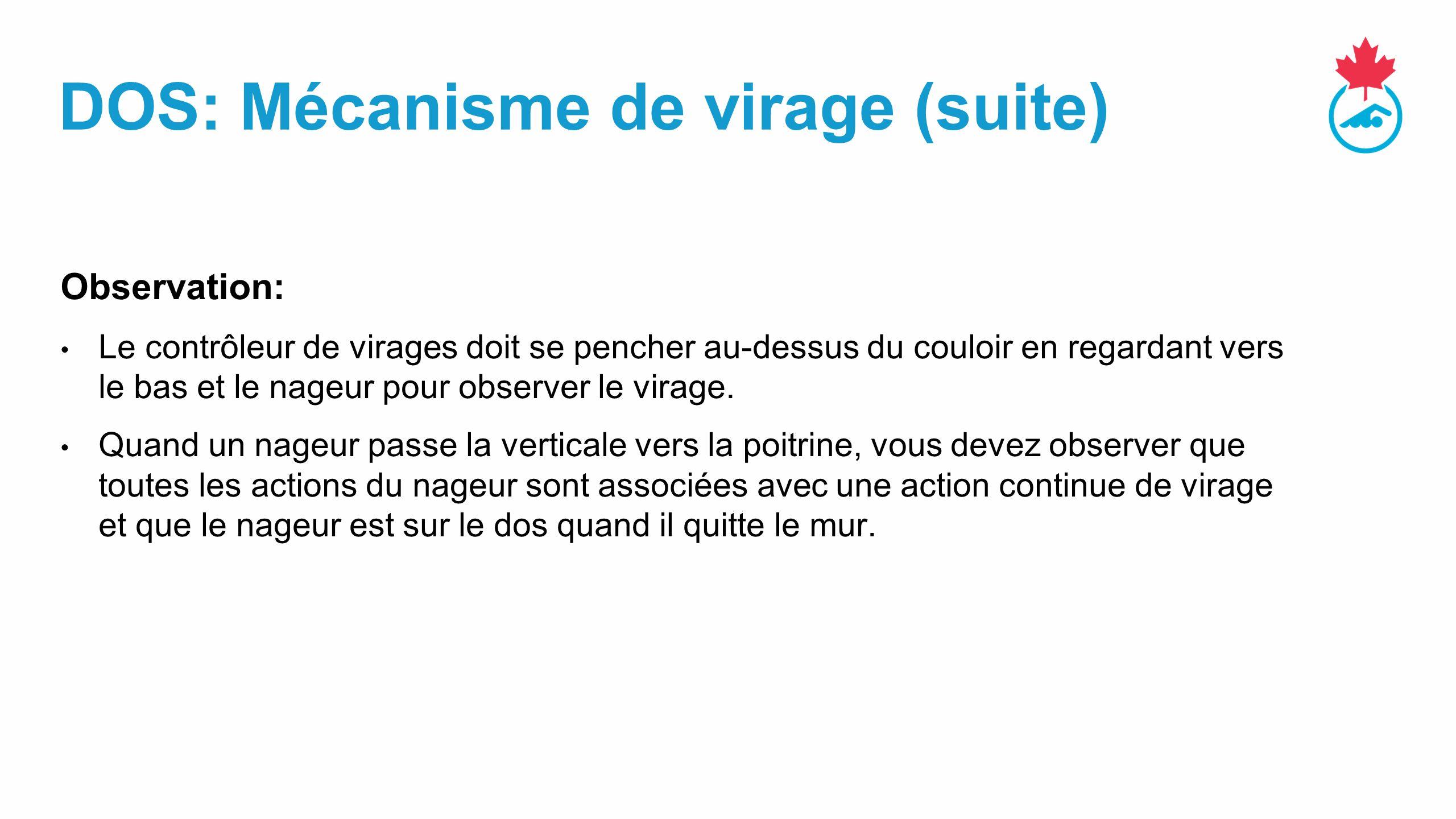 DOS: Mécanisme de virage (suite)