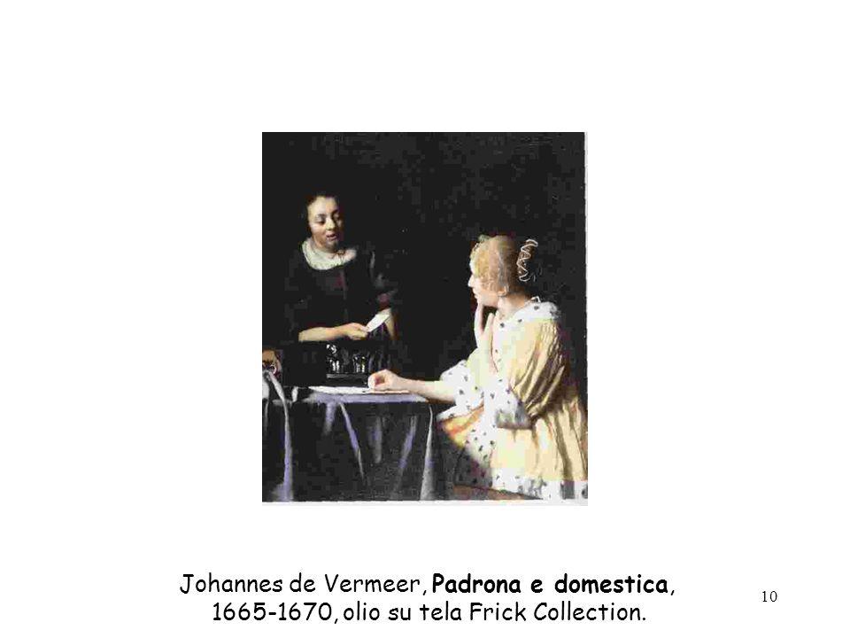 Johannes de Vermeer, Padrona e domestica,