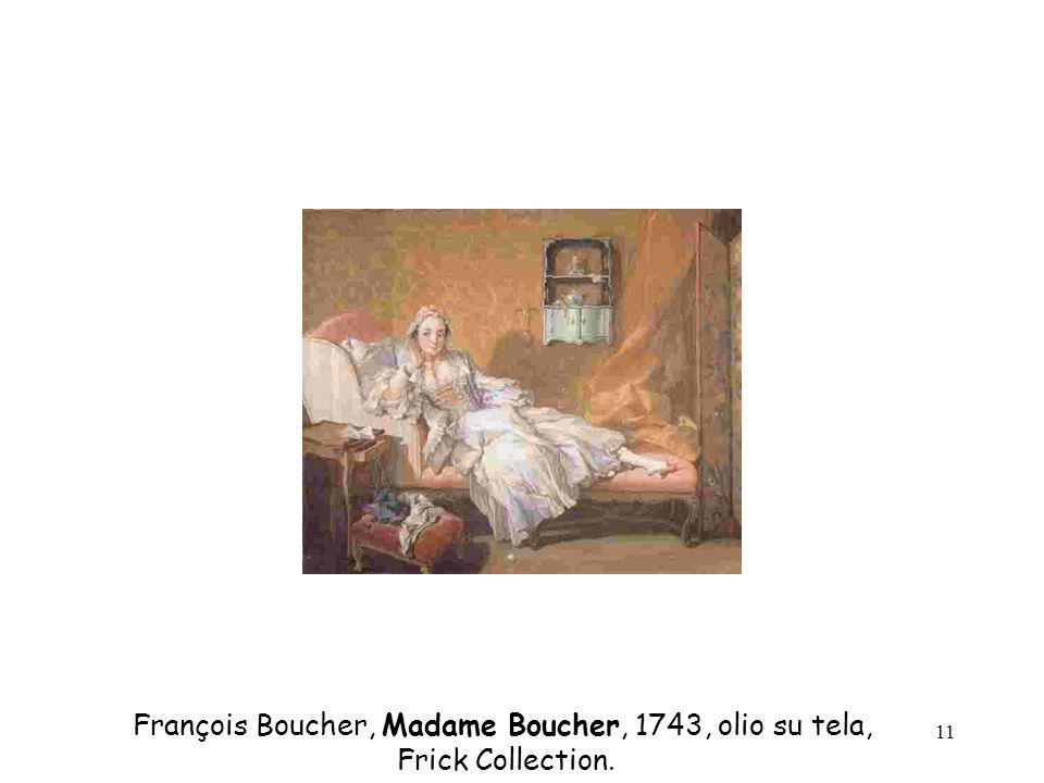 François Boucher, Madame Boucher, 1743, olio su tela,