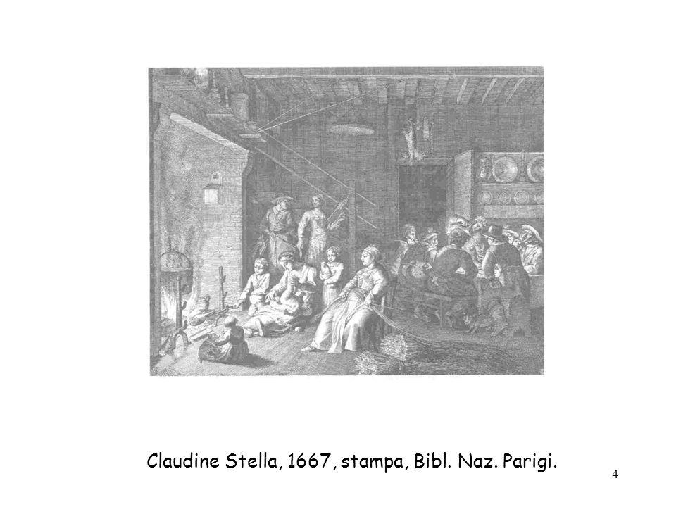 Claudine Stella, 1667, stampa, Bibl. Naz. Parigi.