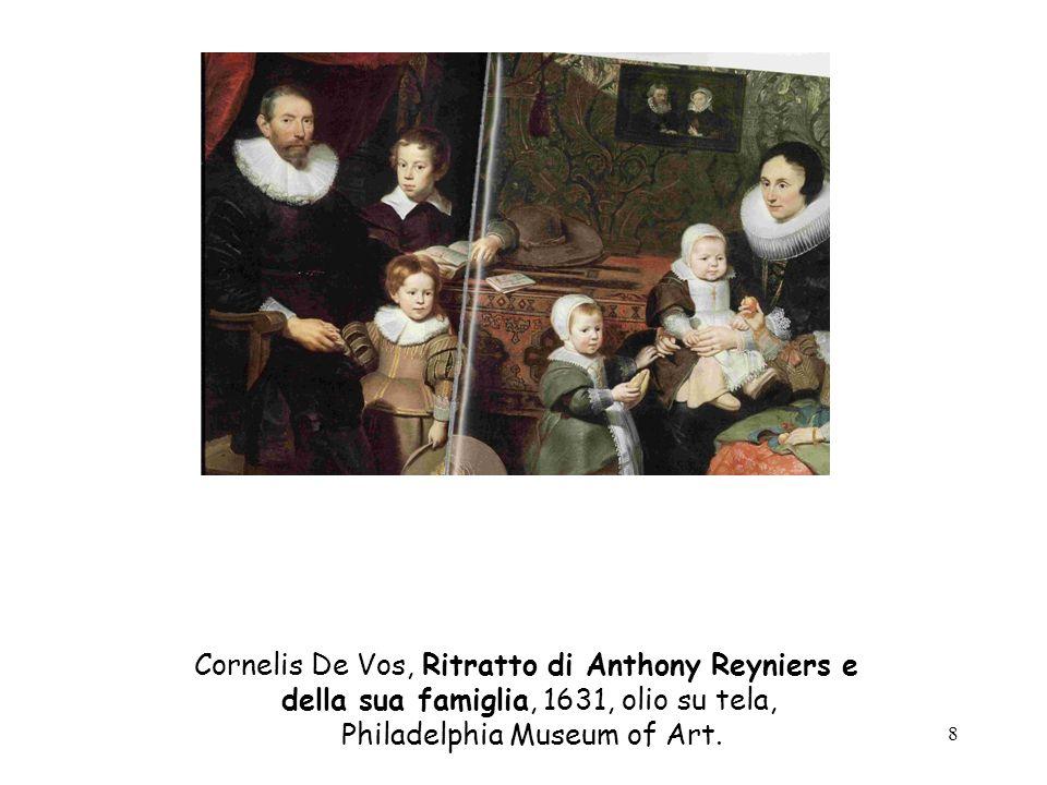 Cornelis De Vos, Ritratto di Anthony Reyniers e