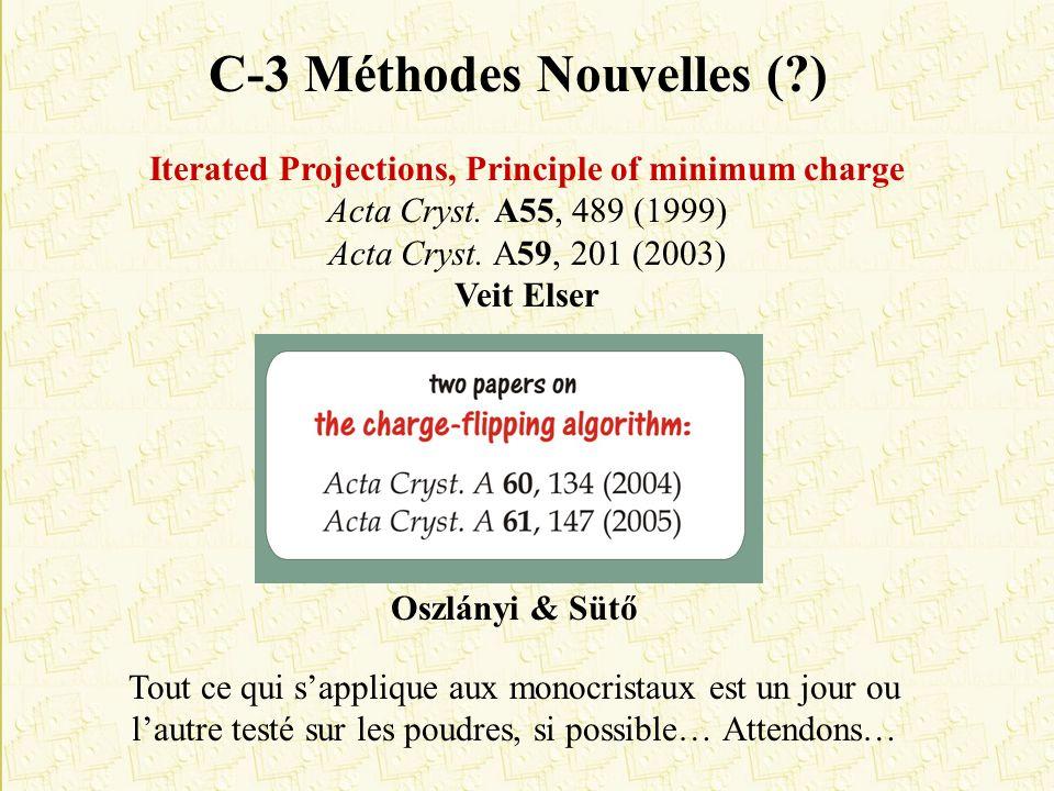 C-3 Méthodes Nouvelles ( )