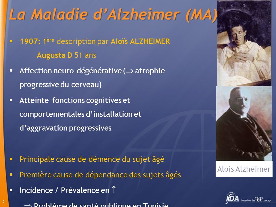 La Maladie d'Alzheimer (MA)