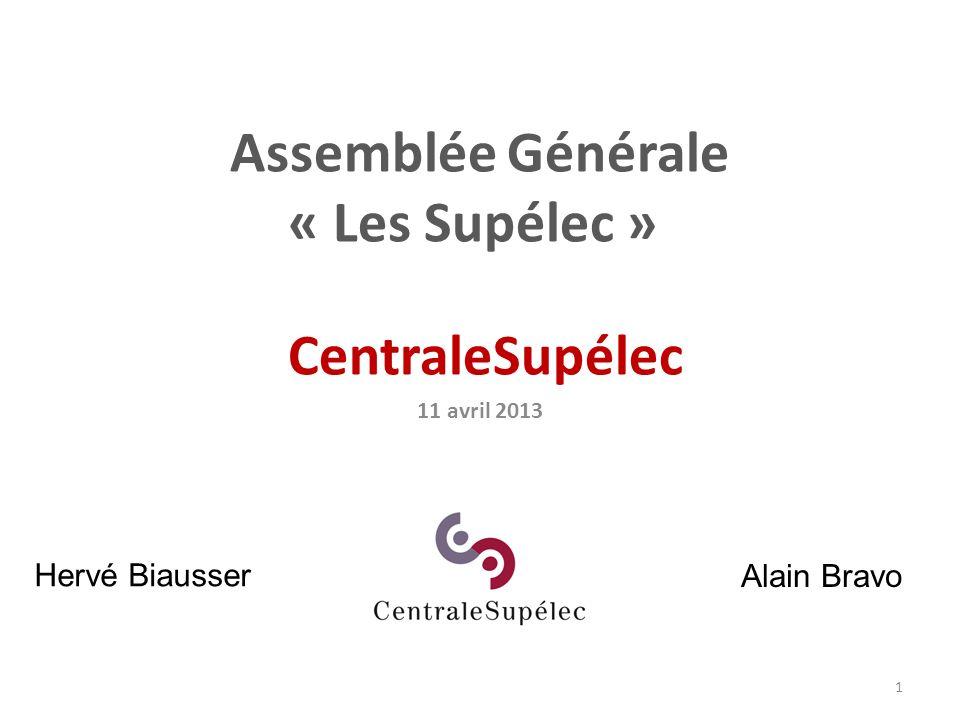 Assemblée Générale « Les Supélec »
