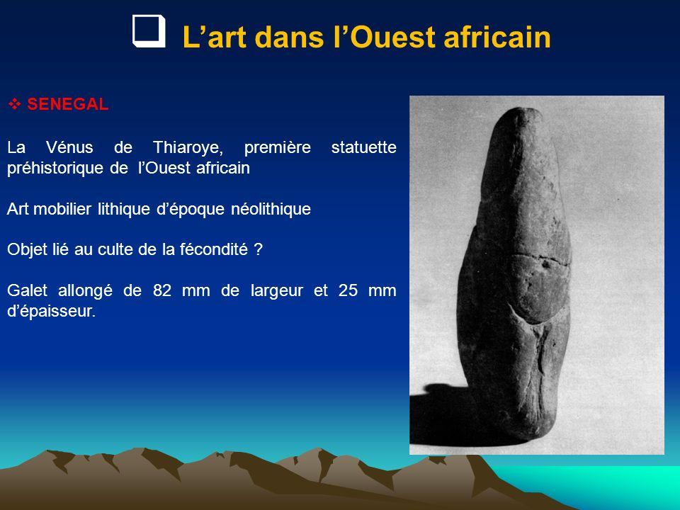 L'art dans l'Ouest africain