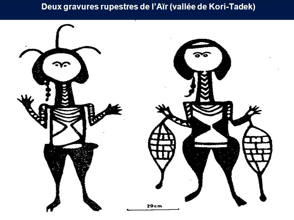 Deux gravures rupestres de l'Aïr (vallée de Kori-Tadek)