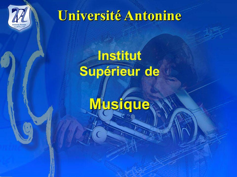 Université Antonine Institut Supérieur de Musique
