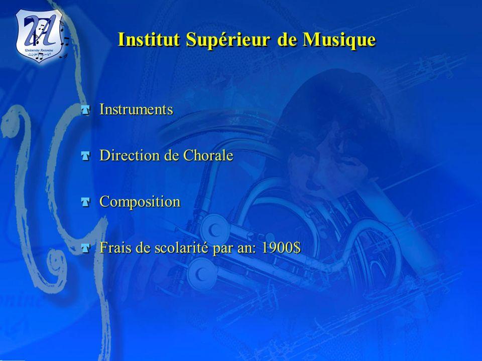 Institut Supérieur de Musique