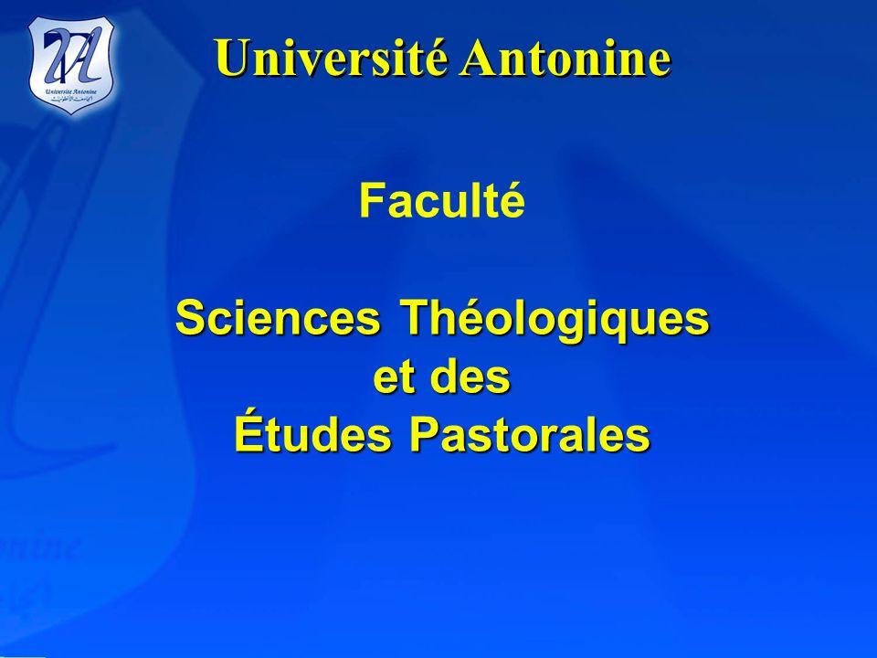 Sciences Théologiques