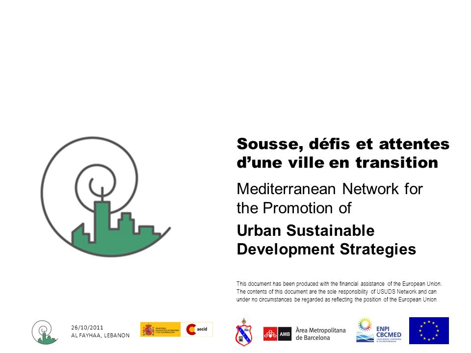 Sousse, défis et attentes d'une ville en transition