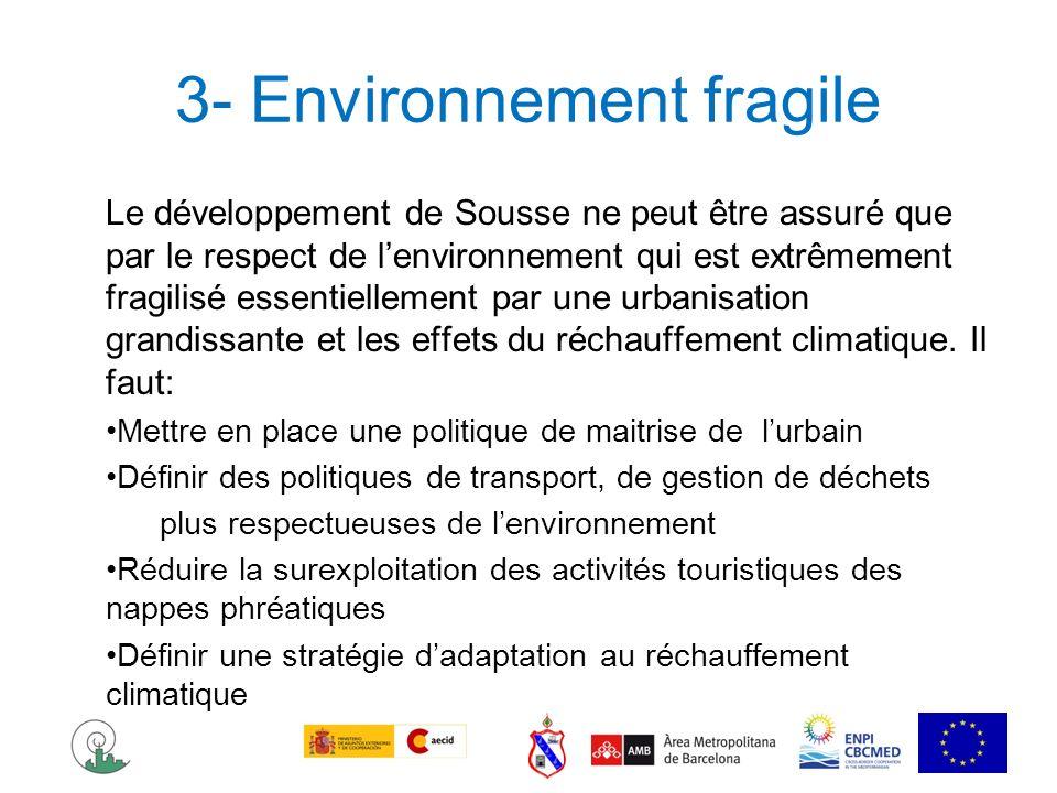 3- Environnement fragile