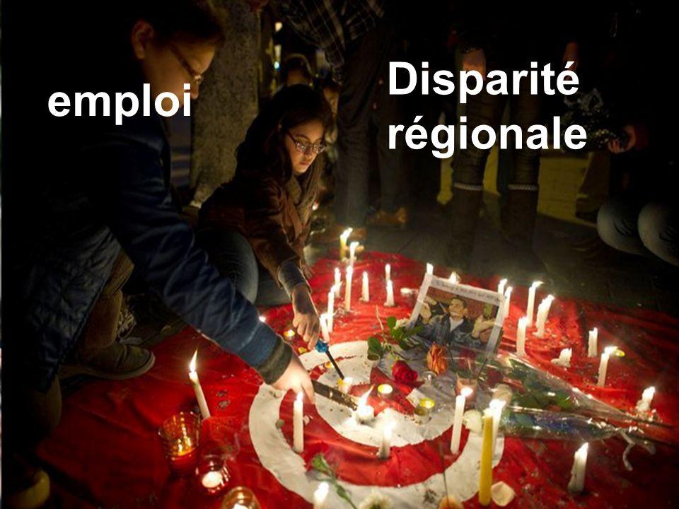Disparité régionale emploi