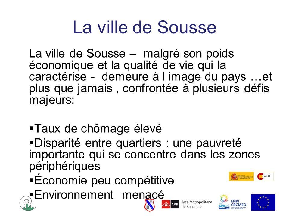 La ville de Sousse