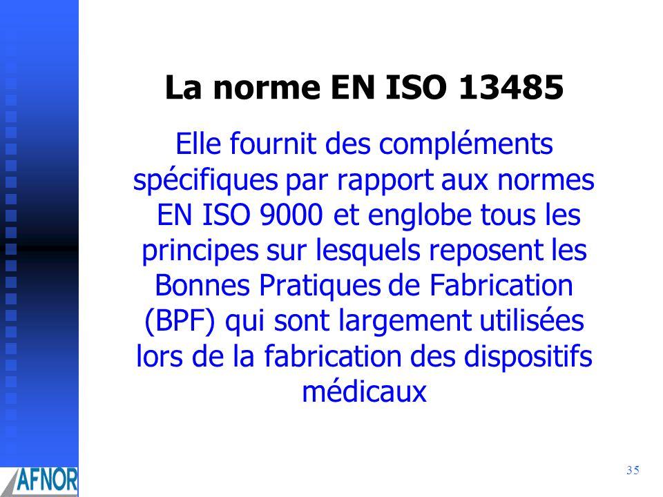La norme EN ISO 13485