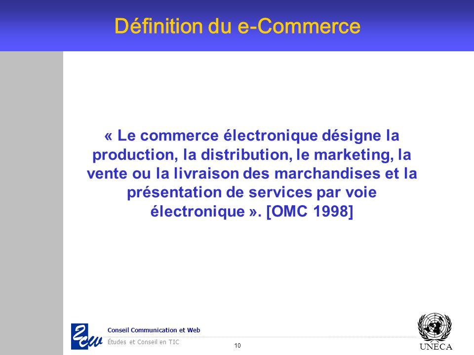 Définition du e-Commerce