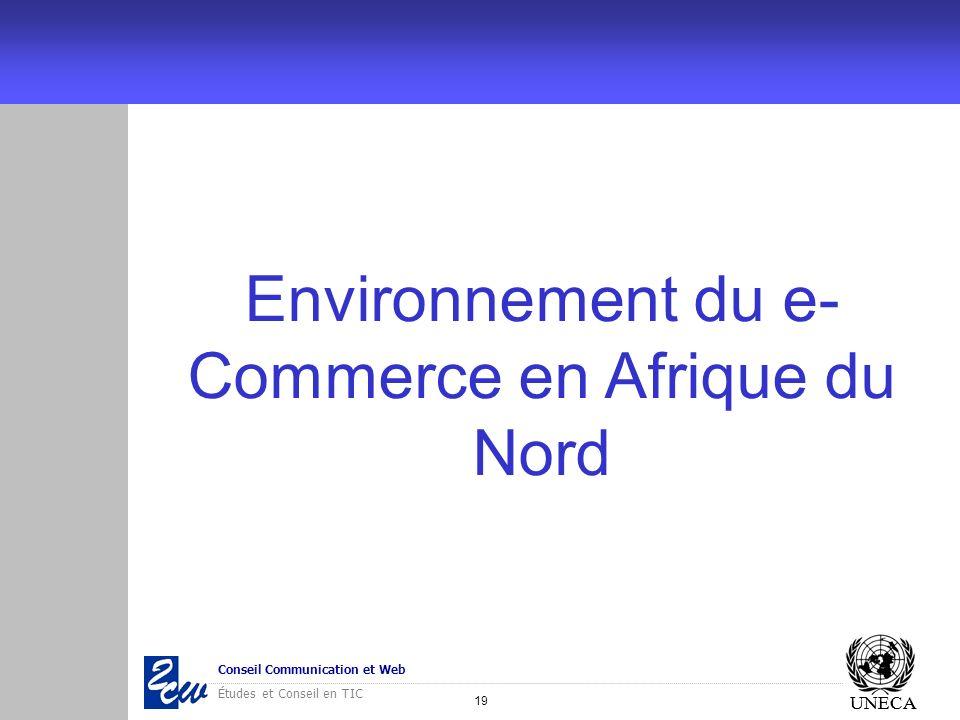 Environnement du e-Commerce en Afrique du Nord