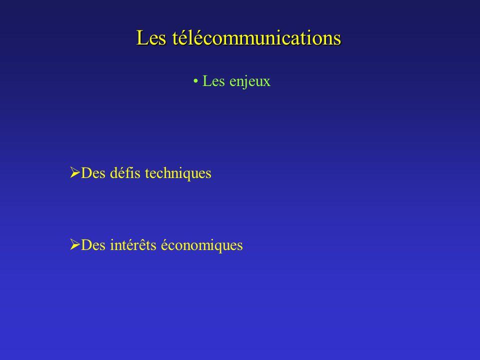 Les télécommunications