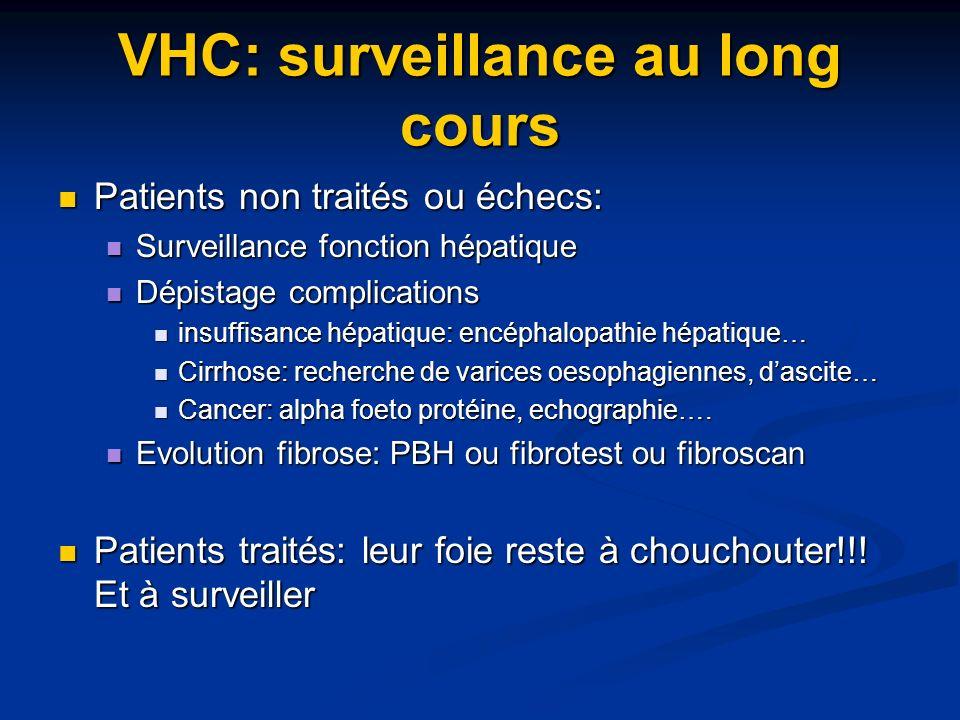 VHC: surveillance au long cours